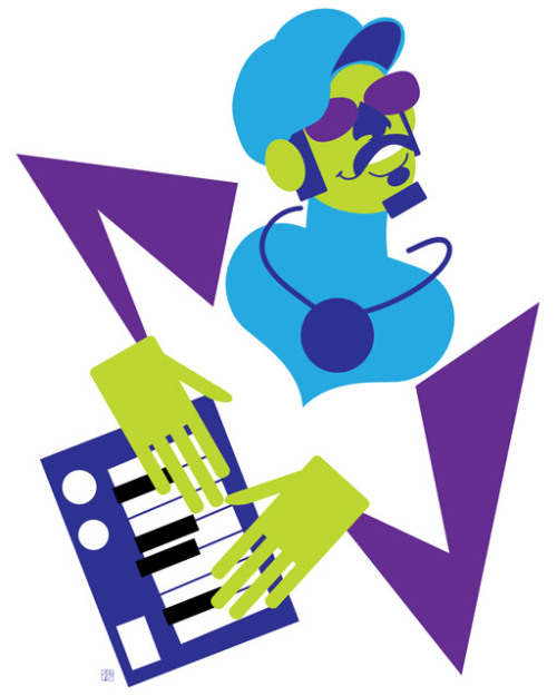 Stevie Wonder, from my Pop 'n' Fresh series.