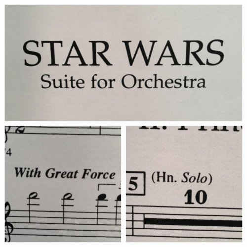 Star Wars suite for Orchestra