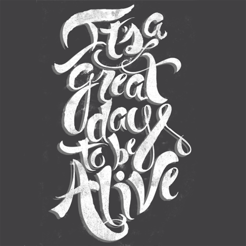 "Typeverything.com ""Great Day"" by Anne Ulku."