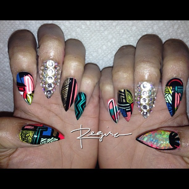 nailsbyregina:  Abstract