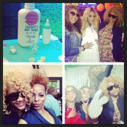 #GoodTimes at @tamarbraxtonher baby shower!!! Great seeing #PynkGirls @lauramgovan @stylesbypat @isparklei @ishateria #PynkGirlApproved