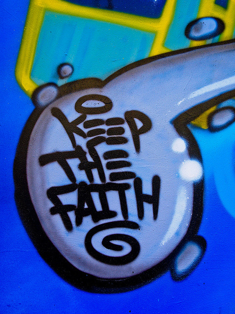 Keep the Faith on Flickr. Taken August 2012 at See No Evil Street Art Project, Bristol, UK.
