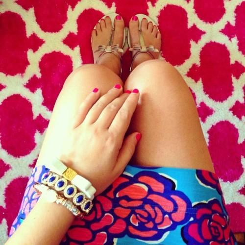 bows ootd lillypulitzer