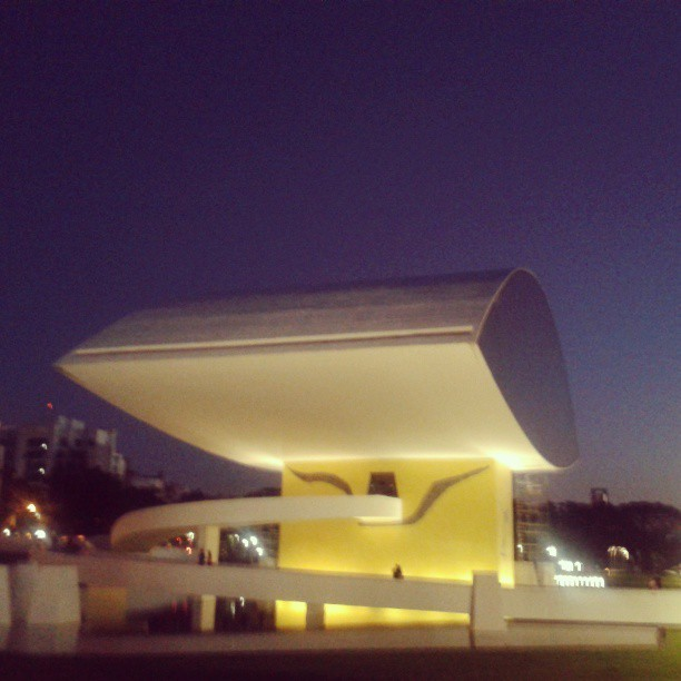 The eye. #niemeyer