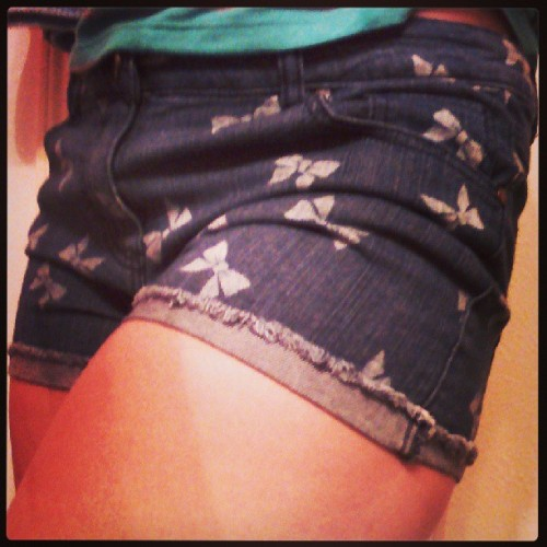 Cute ass shorts. #personal #selca