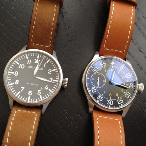 crownandbuckle:  Back to back fliegers that are quite a bit different. #womw