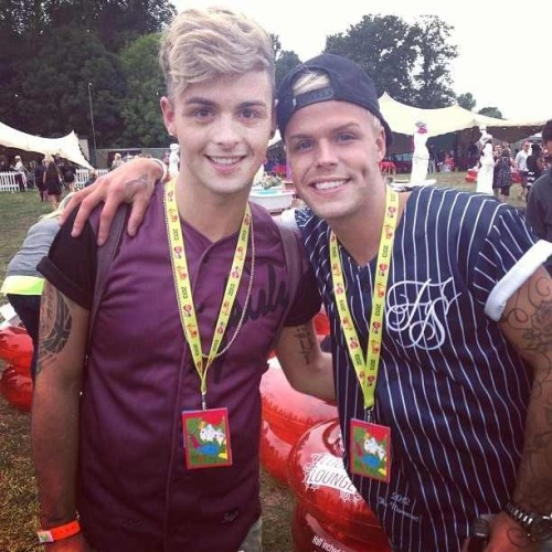 Jaymi and Olly at VFest today! (August 17th, 2013)
