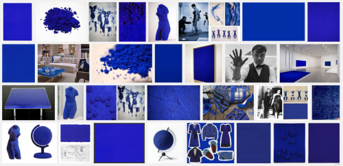 """Yves Klein International Blue,"" Google Image search by Rob Walker, March 25, 2013 Inspired by this thoughtful piece: ""Art In The Age of Google Image Search.""  via pergoogle:"