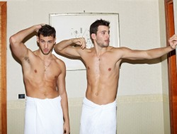 Kevin and Jonathan Sampaio for Homme Style SS 2013 by Simon Fashion