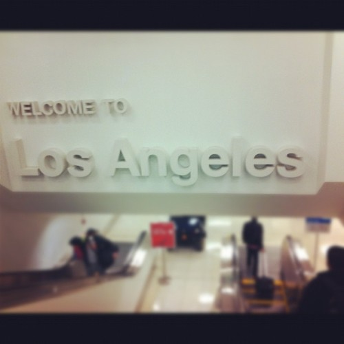 …And we're back. (at Los Angeles International Airport (LAX))