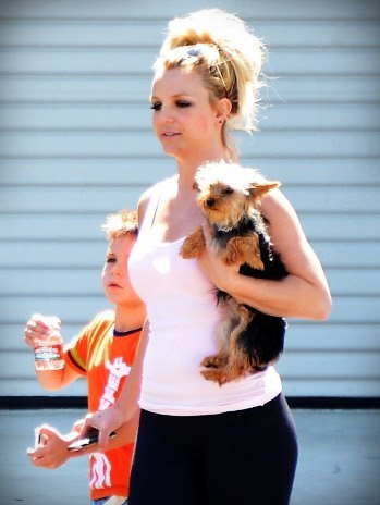 Britney Yesterday!