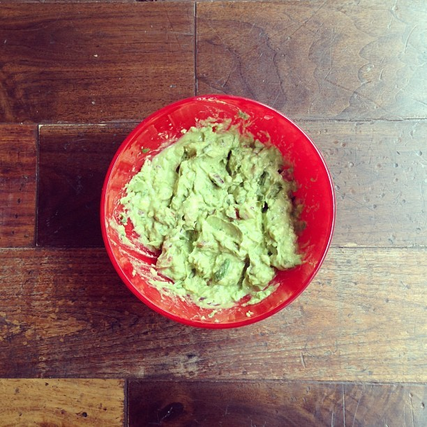 What do you feel like for lunch when you get back from Mexico? GUACAMOLE!!