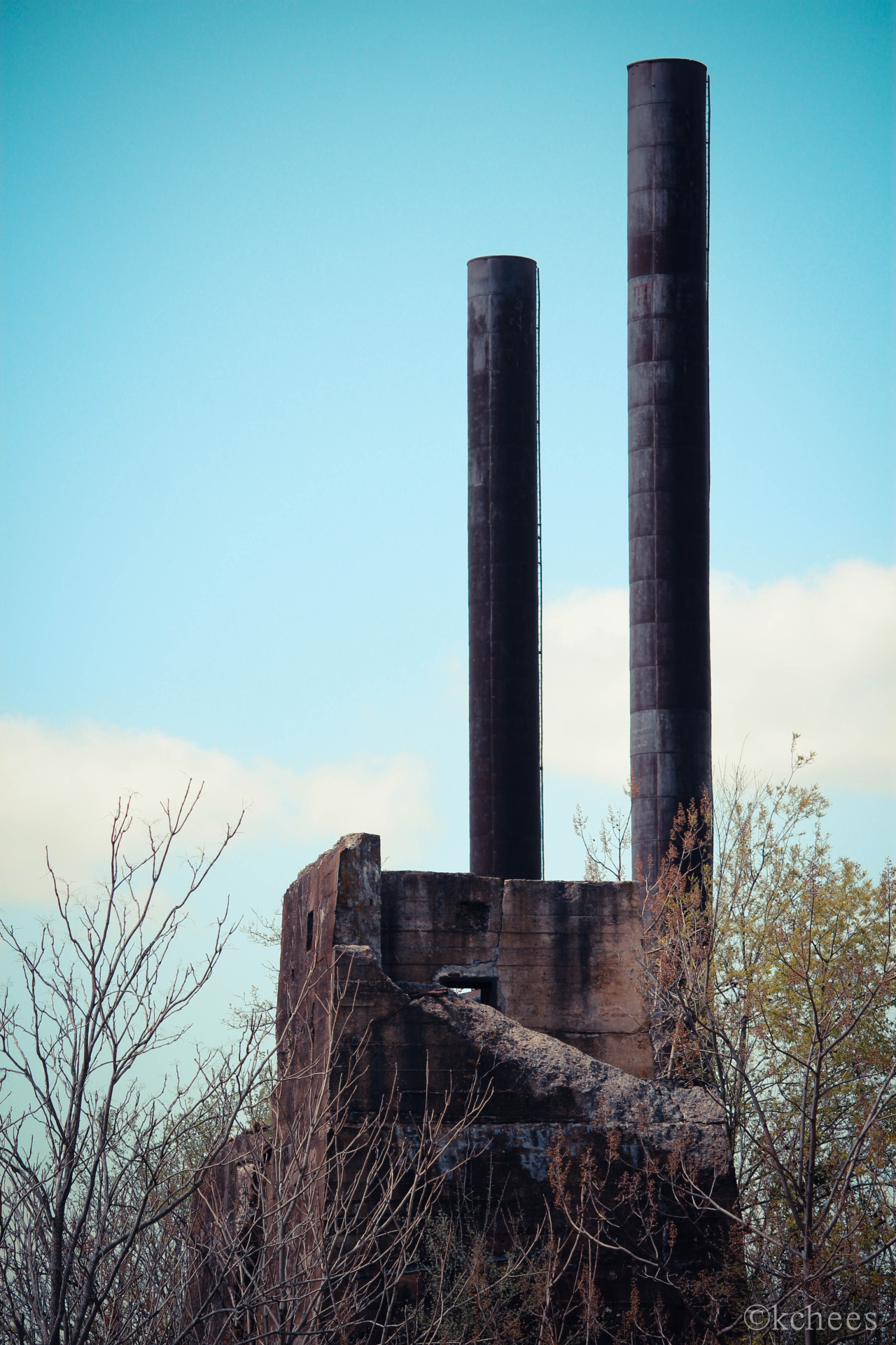 urbantrespasser:  TCI Ensley Steel Works. Accompanied by two experienced UER contacts,  I ventured to Birmingham for a morning exploration of this awesome location. Most of the buildings are demolished, leaving those in my photos here, and the giant hot metal mixer in the 1st photo. TCI Ensley was built in 1888 and was closed in 1976. More information can be found here: http://www.bhamwiki.com/w/Ensley_Works