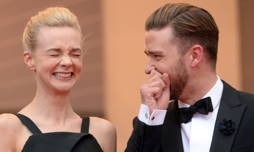 guardian:  What's so funny?  Carey Mulligan and Justin Timberlake got a fit of the giggles last night attending the 'Inside Llewyn Davis' at the Cannes Film Festival. Take a look at more pictures from the evening while we wait for today's highlights. Photograph: Dave J Hogan/Getty Images More on picture desk live