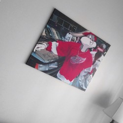soleindividual:  I had to add some art to the crib   SNDVL.com | #sndvl #soleindividual #angelgang