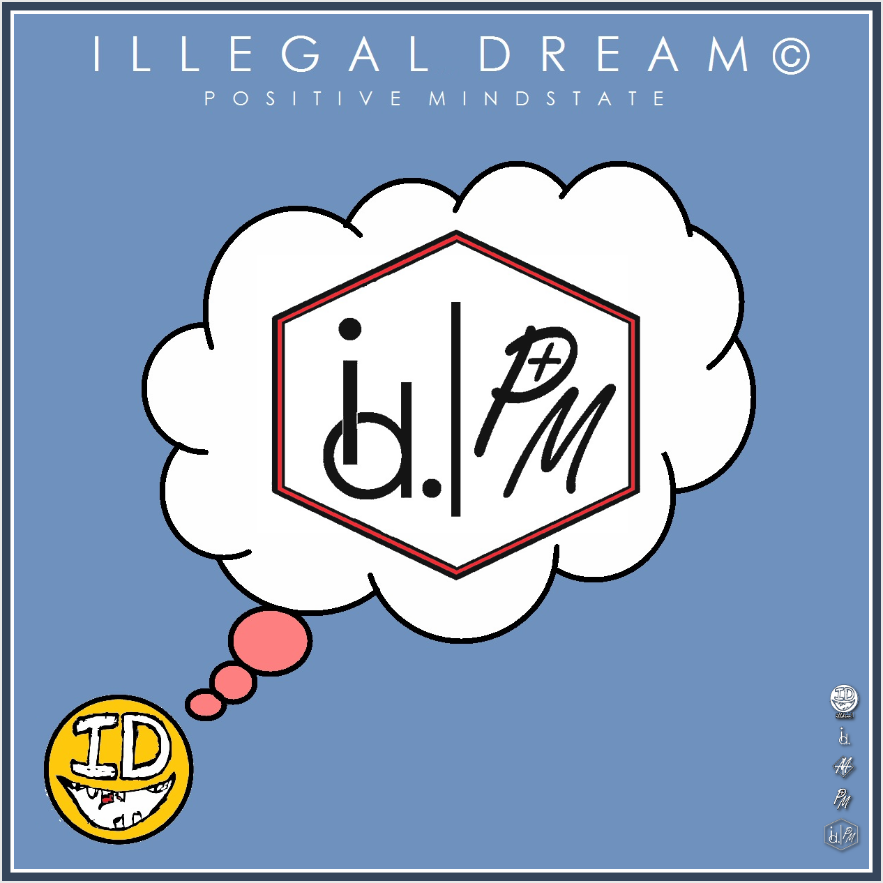 illegaldream:  Another Brand New Concept | Collaboration | ILLEGALDREAM© | POSITIVE MINDSTATE | Support the Revolution | It Will Not Be Television