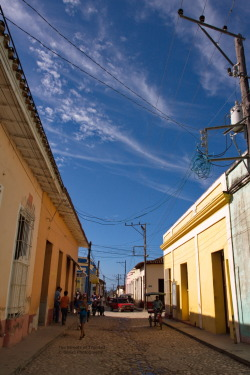 The Streets of Trinidad Trinidad is a town in the province of Sancti Spíritus, central Cuba. Together with the nearby Valle de los Ingenios, it has been one of UNESCOs World Heritage sites since 1988. Trinidad,Cuba Flickr - Twitter - Facebook - Google+ - Posterous - 500px Copyright © BorisJ Photography - Boris Jusseit - all rights reserved - please do not use this image on any media without my permission.