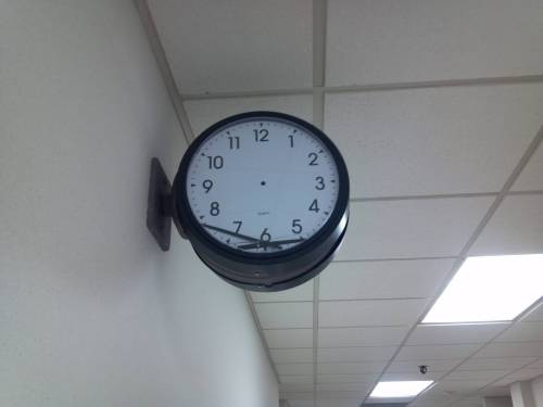 funnyordie:  Not Even Twice a Day  go home clock.  you are drunk.