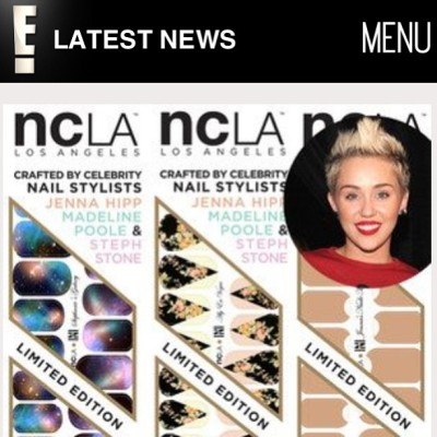 """Best part? No Appointment Necessary"" says @eonline about @shopncla x @nailinghwood #nailwraps by #jennahipp @stephstonenails @mpnails $16 www.shopncla.com #nclaxnailinghollywood"