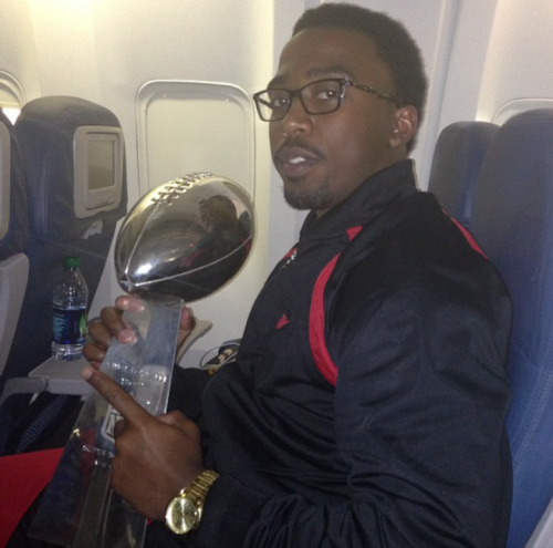 anchorbarwings:  Superbowl Champion  Is that you, Tyrod?