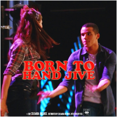 4x05 The Role You Were Born to Play | Born to Hand Jive Alternative Cover 'The Just Jarley Collection'
