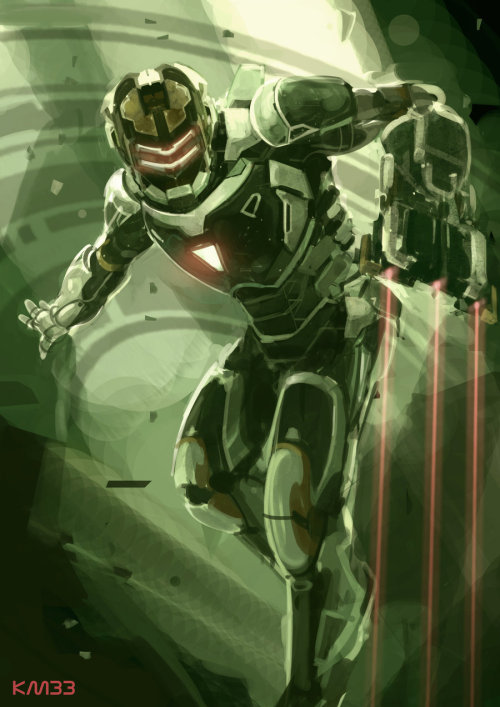 Iron Space Iron Man/Dead Space Mashup Created by Vincentius Matthew