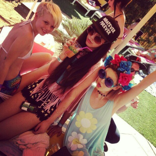 #coachillin with my dolls. @pageruth @harunabarbiegirl #dollskill #coachella #rhonda