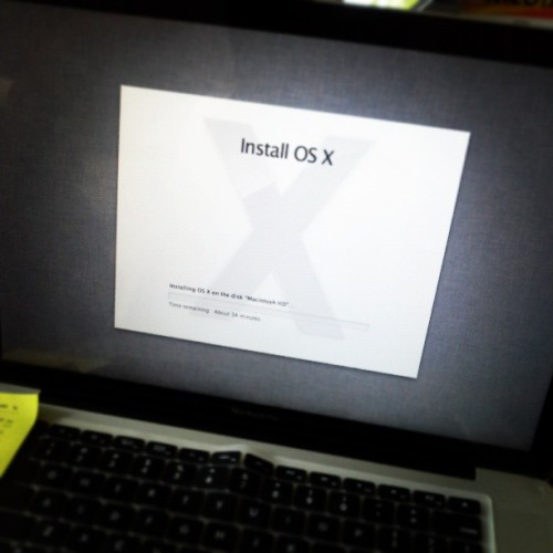 #macbookpro #mbp #upgrade #mountain #lion #installing #clean #fresh