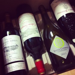I won't be seeing them for another 5 years … | #orwine #bordeaux #CdP #wine  (at Domaine Wine Storage)