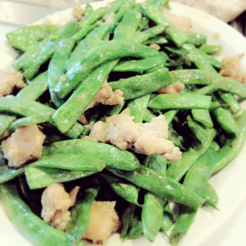 my favorite! #stringbeans#chicken#good#yum#yummy#i#love#this#thai#food#foodporn#photooftheday#instagood#delicious  (at Chiang Mai)