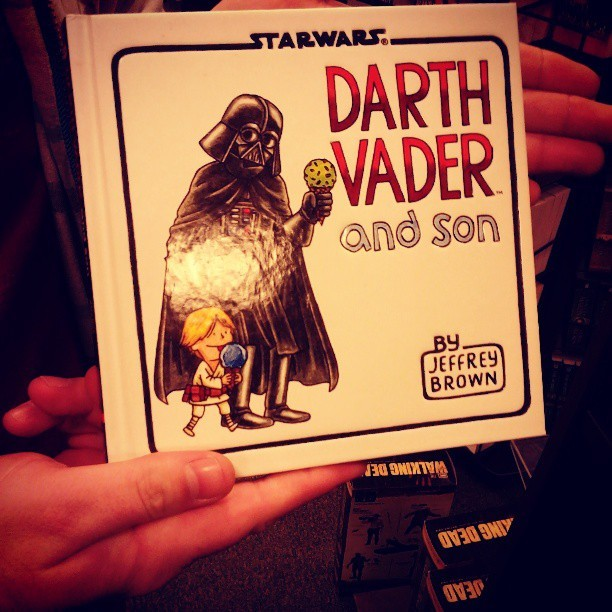 Best children's book ever. #darth #vader #starwars #book