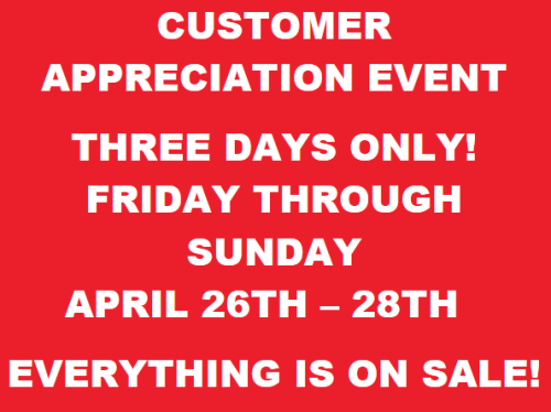 Thank You Houston! Join us this weekend for our customer appreciation event! Everything is on SALE!!!! @houstonjewelry #sale #jewelrysale