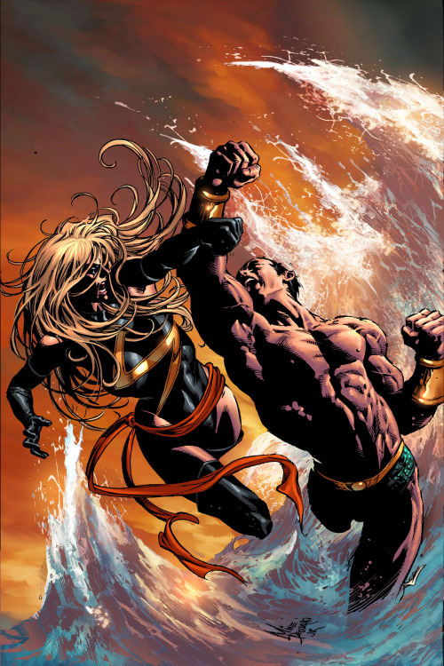 Ms. Marvel by Mike Deodato Jr.