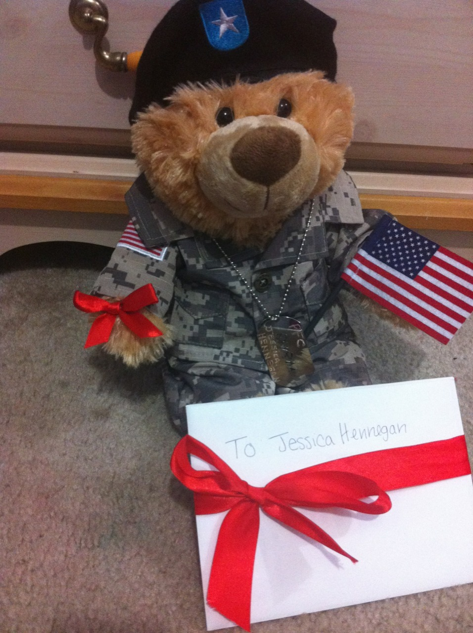 This is what I'm sending my girlfriend for her graduation from basic training ❤😊