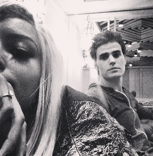Paul & Kat Graham in Paris | May 19, 2013