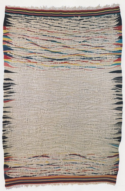 textilenerd:  cooltightyeah:  Weaving by Otti Berger, Bauhaus Weaving Workshop (1930)  Chairman Wow I love this.