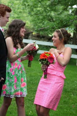 sophiesaysblog:  Prom in Lilly!