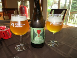 Hill Farmstead Arthur - Is this my favorite beer? It's certainly very close to the top of the list, especially for non-hoppy styles. Enough tartness to make it interesting without losing balance. Would love to grab a bunch of these in the future.