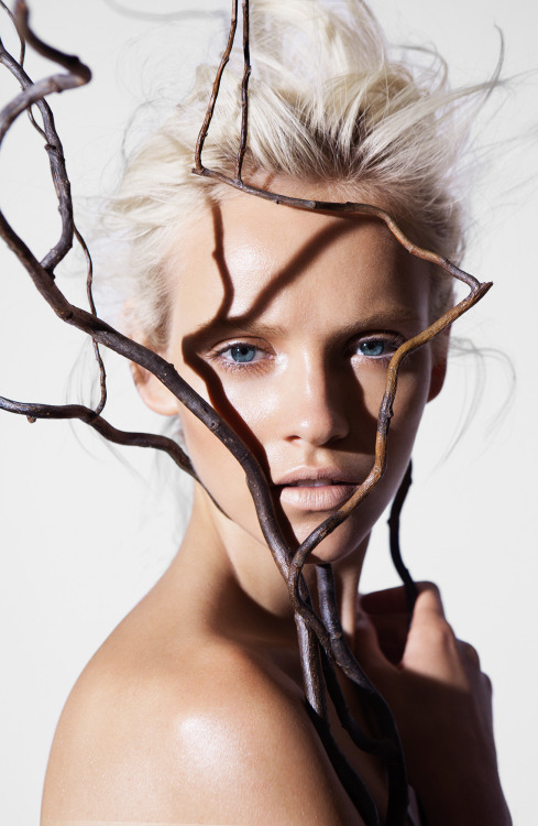 thebeautymodel:  Ginta Lapina by James Houston (2b).