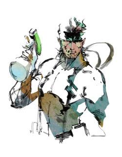 gaming Fanart metal gear solid solid snake mgs Metal Gear GAMESfrontier
