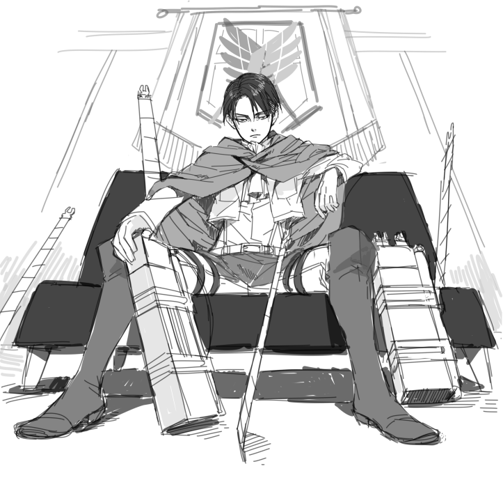 the-federal-show:   Shingeki No Kyojin - L'Attaque des TitansLivaï