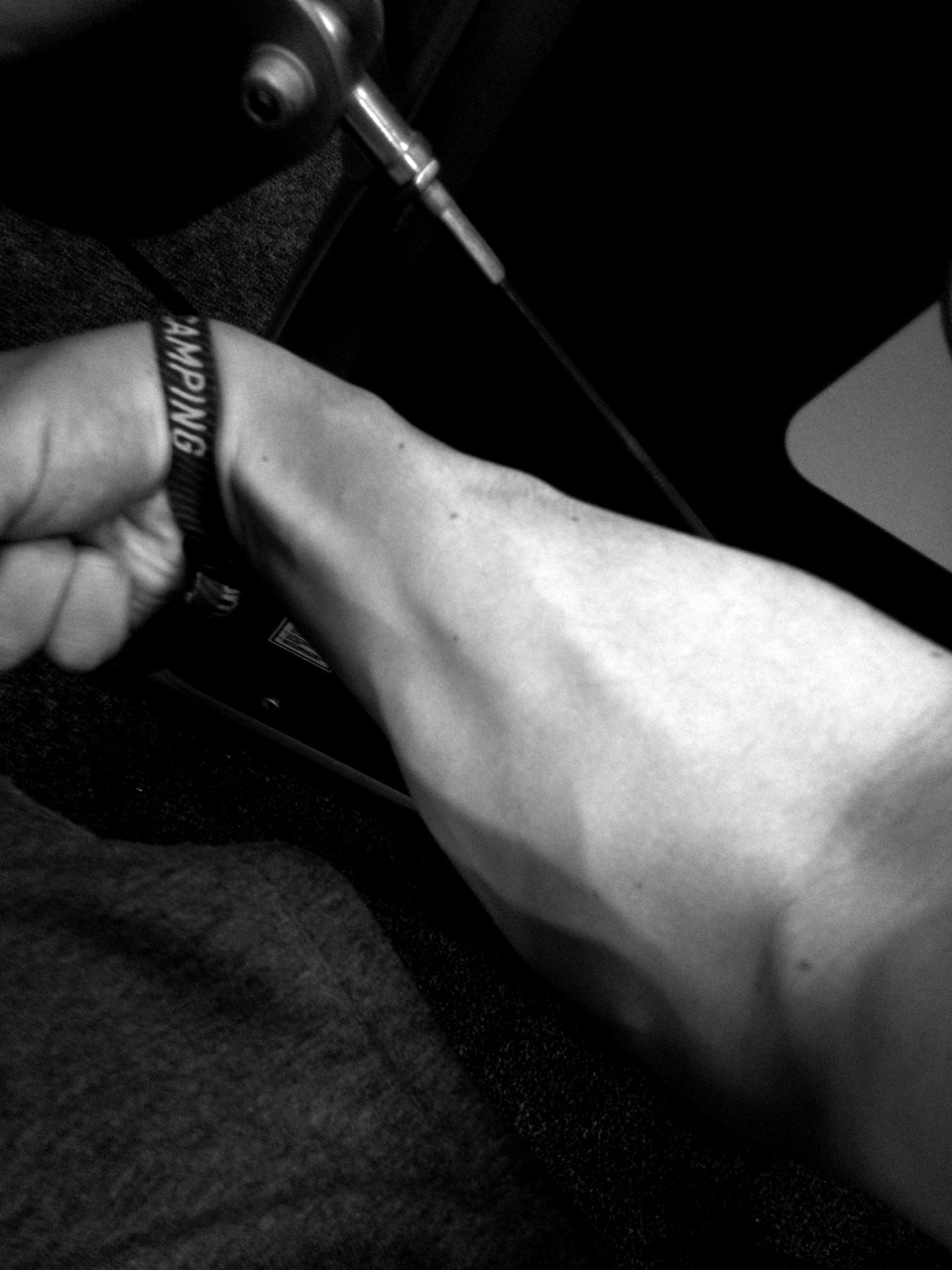 Forearm semi pumped