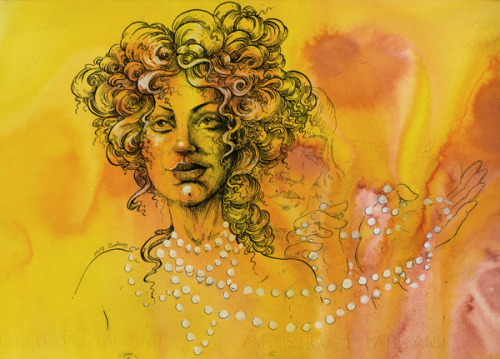 """'Colette' by Cherí, illustrated by Molly Crabapple (via brain pickings)  """"Be happy. It's one way of being wise.""""  ― Colette"""