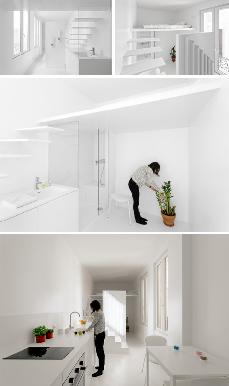 Spectral Studio: 20 Sq M Space Uses Light & Dark as Decor