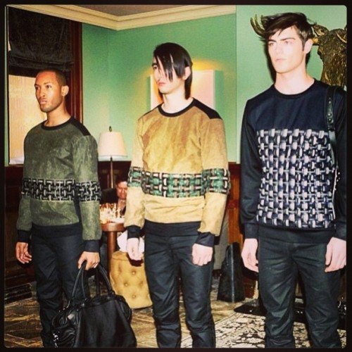 Krane exclusive sweaters for F/W 2013!! @ken_krane  #sogood #iwant #now