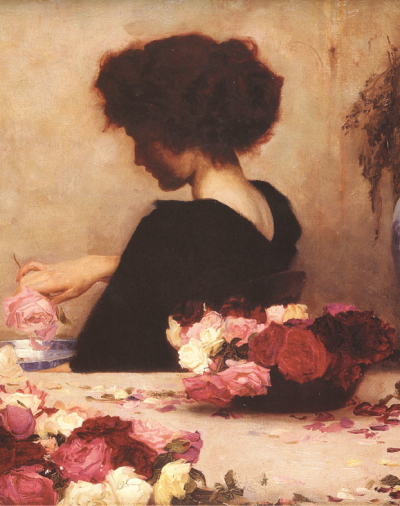 atavus:  Herbert James Draper - Pot Pourri (Detail), 1897