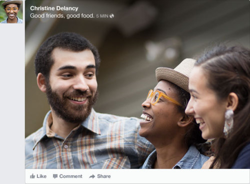 The new redesigned Newsfeed by Facebook, to get the new look, visit this link.