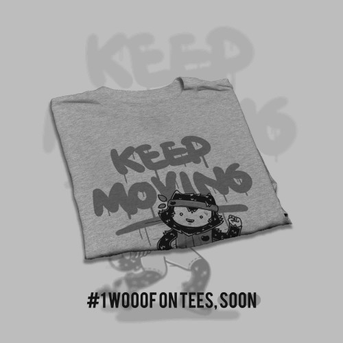 yes, this will be #1 tee with wooof there, just wait. .  -  -  -entah februari ini atau maret nanti, bersiaplah. .