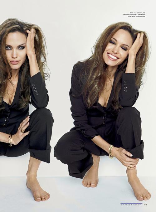 Angelina Jolie For Stylist Magazine, UK, May 2014
