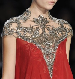 Monique Lhuillier Fall 2013 Runway Details